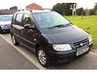 VERY LOW MILEAGE Hyundai Matrix CDX 5dr FULL LEATHER 12 MONTHS MOT (NO ADVISORYS).
