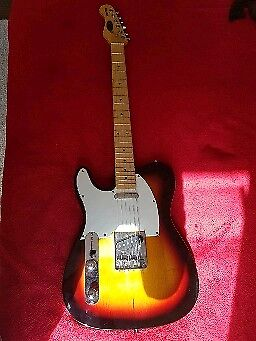 Stagg Telecaster Left Handed Electric Guitar In Bournemouth