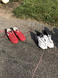 Child's soccer cleats