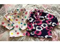 Two mothercare fleeces age 3-4 years