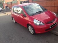 2007 HONDA JAZZ 1.4 PETROL IN MILANO RED R81C BREAKING FOR PARTS