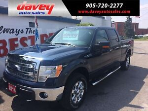2014 Ford F-150 XLT XTR PKG, CREW CAB, LEATHER INTERIOR