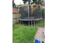14foot trampoline bargain £100