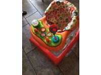 baby walker with detachable tray good condition