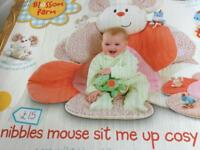 Nibbles Mouse sit up cosy chair