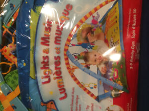 Vibrating Chair and musical play mat