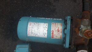 1/2 HP WATER PUMP IN GOOD WORKING CONDITION