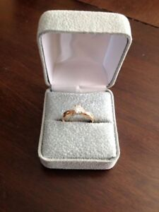 Solitaire Diamond Ring  with 14 Carat Gold