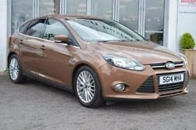 2014 Ford Focus 1.0 125 EcoBoost Zetec 5 door Petrol Hatchback