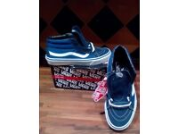 Vans Skateboard Shoes Style 38 Skate Hi.. UK 6... NEW