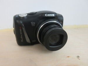 **POWERSHOT** Canon SX150 IS Digital Camera 14.1MP 12x Zoom