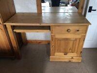 Solid pine laptop desk