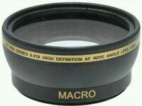 Pro Series 0.43x High Definition AF Wide Angle Lens