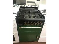 60CM GREEN LEISURE GAS COOKER