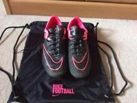 Nike Mercurial Leather Soft Ground Boots Size 9 *Pick up only*