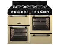 Brand NEW GAS LEISURE Cookmaster CK100G232 100cm Gas Range Cooker - Cream&Chrome PRP£999 GRADED SALE
