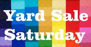 Garage sale at 252 Lakeshore Road, July 22nd, 7:30-12:30