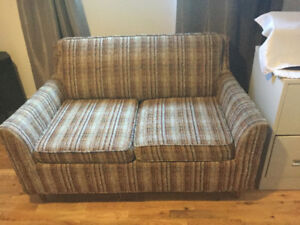 Love seat bed