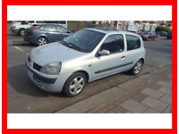 2002 Renault Clio 1.2 --- Manual --- Part Exchange Welcome --- Drives Good