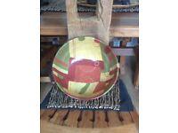 Large Table Decorative pottery Bowl, excellent condition