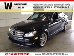 2013 Mercedes-Benz C-Class 4MATIC NAVIGATION SUNROOF LEATHER 63,