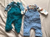 4 x Next outfits 0-3 months