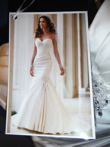 Bridal Boutique Wedding Dress New Never Worn, Size 12.