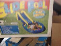 Play pool and slide