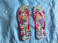 Ladies Boden Flip flops sandals New