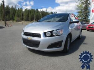 2015 Chevrolet Sonic LT Front Wheel Drive - 48,872 KMs, Seats 5