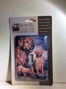 dog wall switch plate cover
