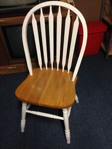 Solid Oak Chairs - reduced