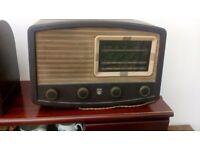 Bakelite radio
