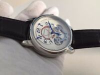 New Montblanc Nicolas Rieussec Chronograph Watch, LEATHER STRAP