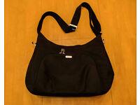 Ellis Baby Changing Shoulder Bag - Black (Mamas & Papas)