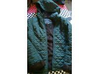 Stylish Women jacket from TK MAX dark green size medium