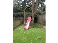 Jungle Jim wooden playhouse