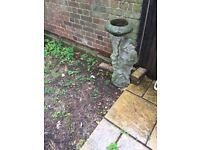 Bird bath/ Garden statue