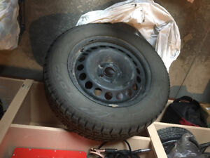 like new - Toyo observe GSI-5 tires on rims from 16 Chevy Cruze
