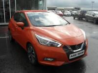 Nissan Micra DCI TEKNA (orange) 2017-03-09