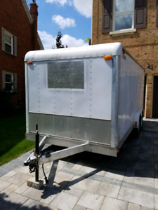 Car Mate Cargo Trailer 7X16 Fully Renovated