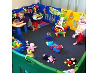 Jolly Kidz playpen with extension kit - good condition