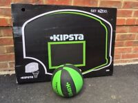 Kipsta basketball with wall mounted net brand new in box