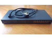 16 slot Ethernet Switch (great for LAN Gaming)