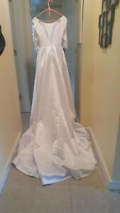 Gorgeous Silk Wedding Dress
