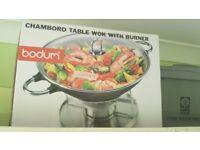 Bodum - Chambord Table Wok with Burner