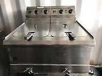 Parry PDPF6 Double Floorstanding Electric Fryer **PRICE DROP**