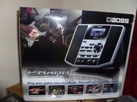 BOSS EBAND JS-10 AUDIO PLAYER WITH GUITAR EFFECTS NOT USED