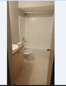 one bed room availabe in a two bedroom apartment