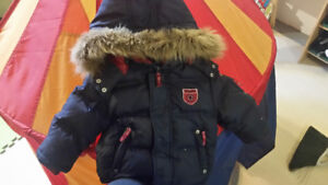 Tommy winter coat 2T